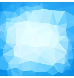 Triangle neutral blue and white abstract vector