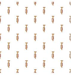 Yellow trumpet pattern vector