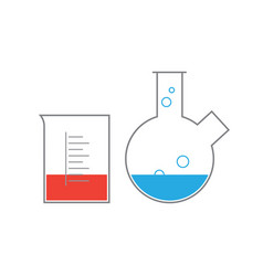 Chemical supplies vector