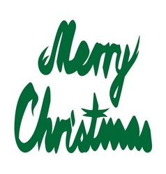Merry christmas ribbon1 resize vector