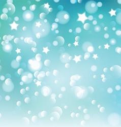 Christmas bokeh lights and stars 1609 vector