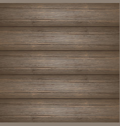Dark brown wooden planks texture vector