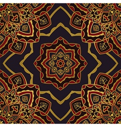 Dark pattern of mandalas vector image