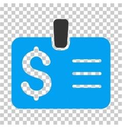 Dollar badge icon vector