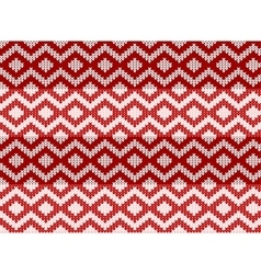 seamless zigzag pattern sweater vector image