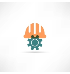 mechanic icon vector image