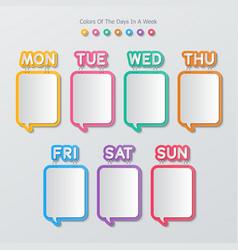 Paper speech bubbles infographics vector
