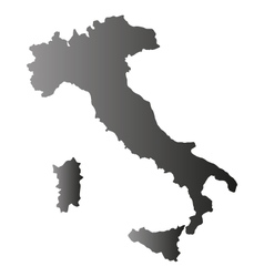 Map italy vector