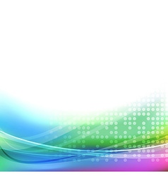 Abstract bright colorful transparent background vector image vector image