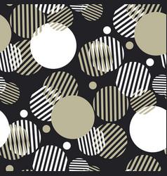 dynamic geometry seamless motif vector image