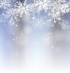 Snowing background vector