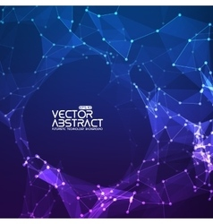 Abstract background futuristic technology vector