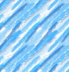 Rough brush blue watercolor vector