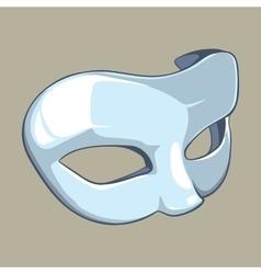 White mask vector