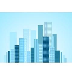 Urban modern city panorama vector image