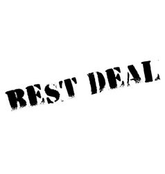 Best Deal rubber stamp vector image