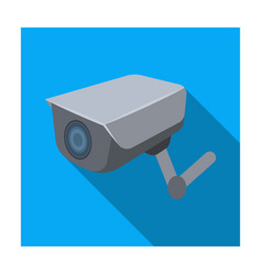 cctv camera in the prison the system of vector image vector image