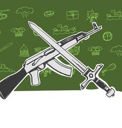 armor vector image