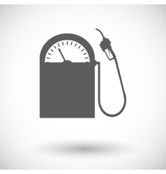 Icon gas station vector