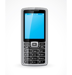 mobile telephone vector image