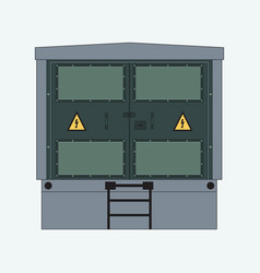 Complete transformer substation vector