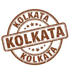 Kolkata stamp vector