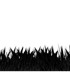Black and grey grass abstract natural background vector