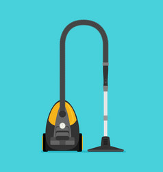 flat vacuum cleaner vector image