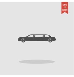 Limousine icon concept for vector