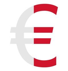 Maltese euro vector