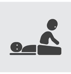 Massage icon vector image vector image