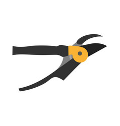 shears pruning icon garden gardening scissors vector image