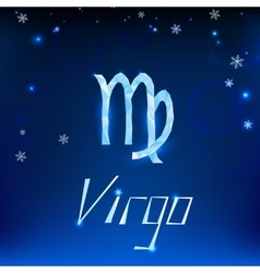 01 virgo horoscope sign vector