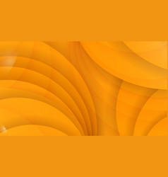 Abstract background of yellow color curved lines vector