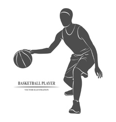 Basketball Player athlete vector image vector image