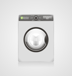 Cleaning Machine vector image