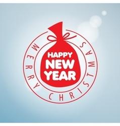 Logo christmas vector