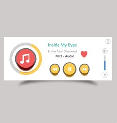 Music player 19 vector