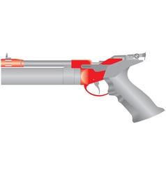 Air pistol vector image