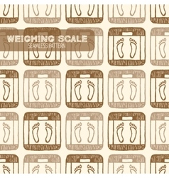 Weighing Scale Vintage vector image