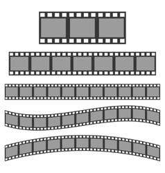 Black film frame vector