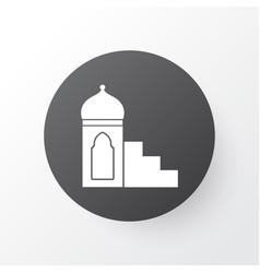 mimbar icon symbol premium quality isolated vector image vector image