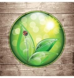 World environment day sign vector image
