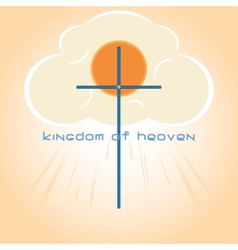 Kingdom of heaven vector