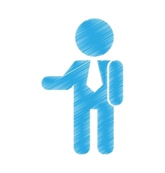 businessman avatar isolated icon vector image vector image