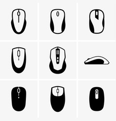 Computer mouses vector