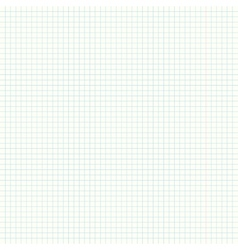 Square ruled notebook or exercise book page vector image vector image