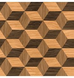 parquet cubes vector image