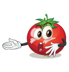 a tomato vector image