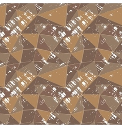 Seamless grunge mosaic vector image